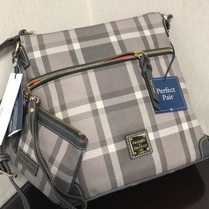 Dooney & Bourke crossbody with wallet/wristlet NWT